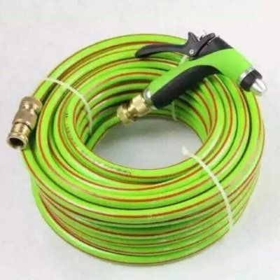 PVC Garden Hose With Brass Fittings